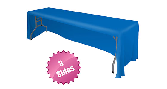 Front Logo Table Throw-5