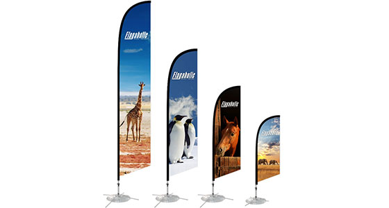 Small Feather Banner 2.0M-2