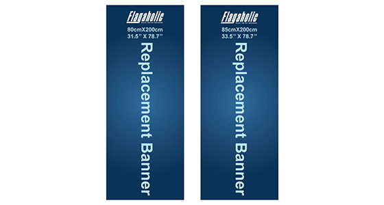Replacement Banner (Roll Up Banner)